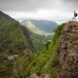 写真:山登りやハイキングを始めました