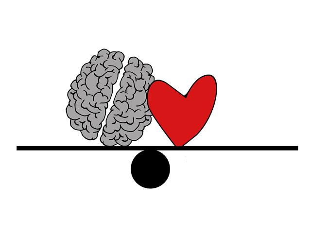 心と頭で恋愛を考える