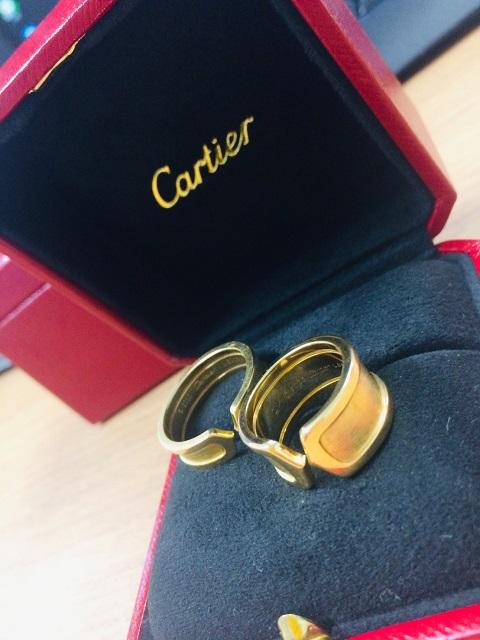 カルティエの指輪を大切にする